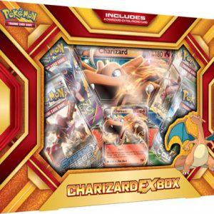 De almachtige Charizard, geliefd bij velen, heeft weer wat aandacht gekregen. De Fire Blast box bevat een Charizard-EX promo-kaart en 4 booster packs. Daarnaast heeft de box een oversized kaart van Charizard.