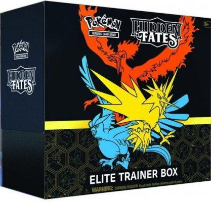 Pokemon Hidden Fates - Elite Trainer Box