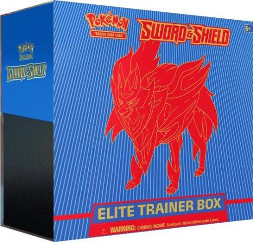 Pokemon Sword and Shield Elite Trainer Box (Shield)