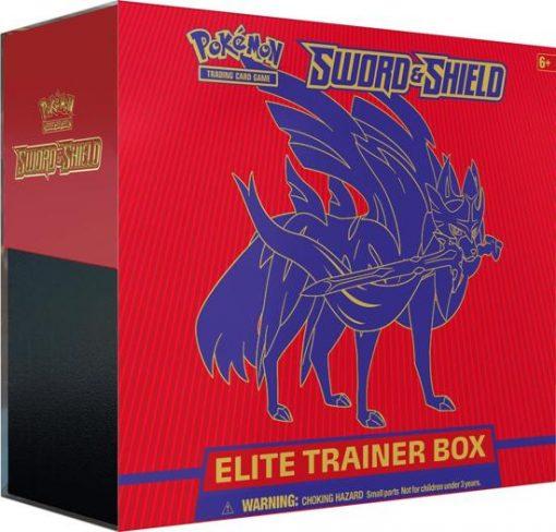 Pokemon Sword and Shield Elite Trainer Box (Sword)