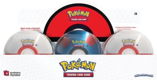 Pokeball Fall Tin 2019