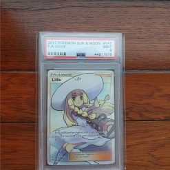 Pokemon PSA 9 Lillie FA Sun and Moon 147/149
