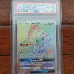 Pokemon PSA8 Tapu Lele 155/145 Guardians Rising