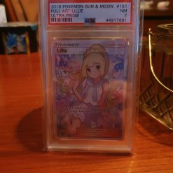 Pokemon PSA 7 Lillie FA Ultra Prism 151/156.