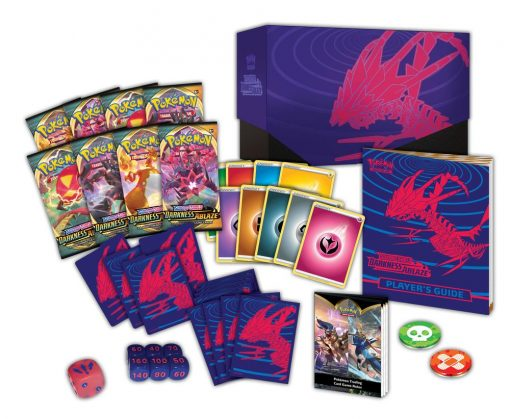 Pokemon Sword & Shield Darkness Ablaze Elite Trainer Box
