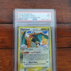 Pokemon PSA7 Charizard 71/70 Crystal Guardians Delta Species Holo Rare