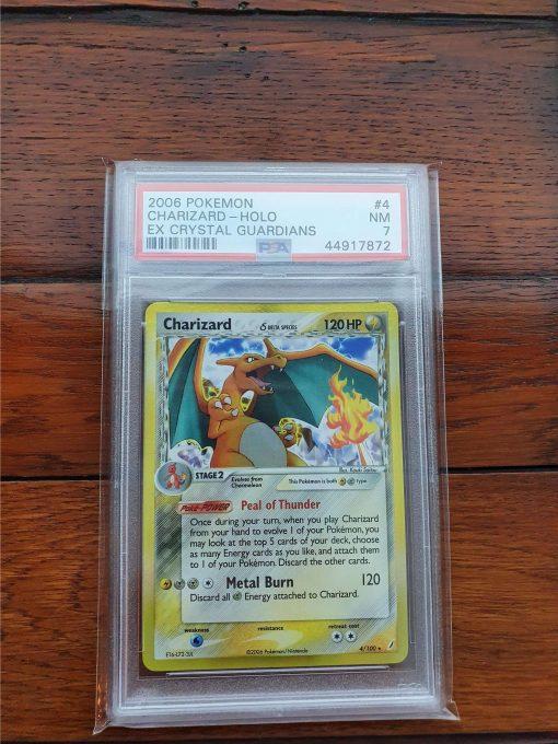 Pokemon PSA7 Charizard 71/70 Crystal Guardians Delta Species Holo Rare