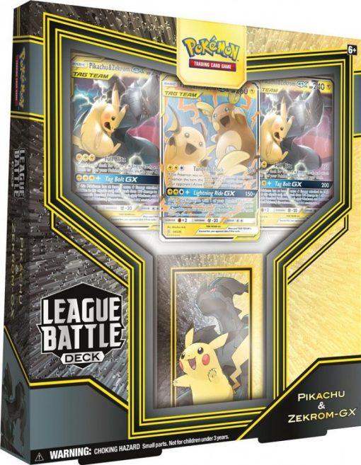 Pokemon League Battle Deck Pikachu & Zekrom