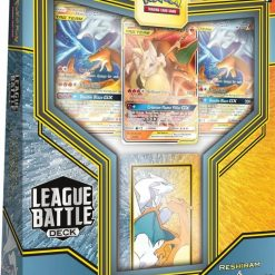 Pokemon League Battle Decks Reshiram and Charizard