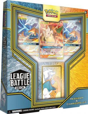 Pokemon League Battle Decks Reshiram and Charizard