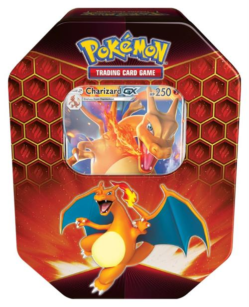 Pokemon Hidden Fates Charizard-GX Tin