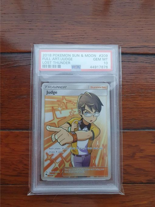 Pokemon PSA 10 Judge Lost Thunder 209/214