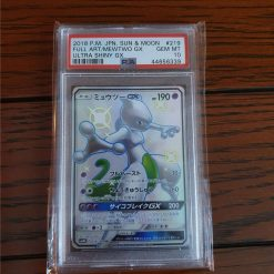 Pokemon Ultra Shiny Mewtwo GX 219/150 SM8b Japans PSA 10