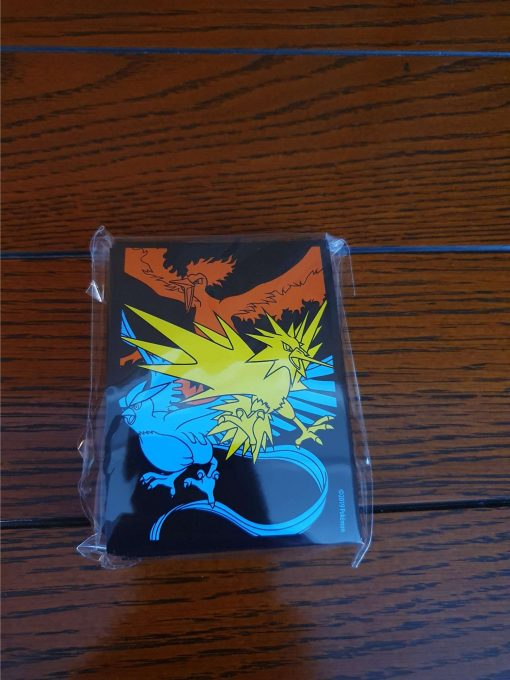 Pokemon Hidden Fates Zapdos Articuno Moltres Sleeves
