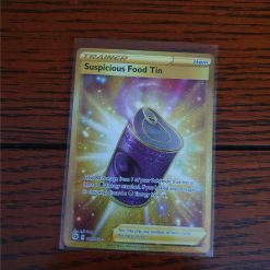 Pokemon Suspicious Food Tin Champion's Path 080/073