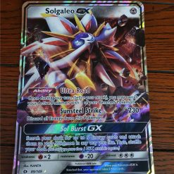 Oversized Solgaleo GX 89/149 Sun and Moon