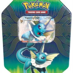 Pokemon Elemental Power Tin Vaporeon GX
