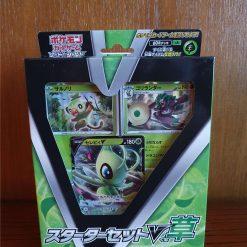 Pokemon Sword & Shield Starter Set V Grass Celebi