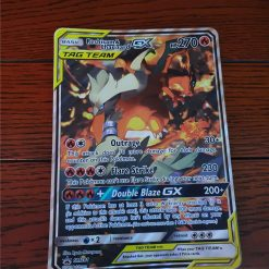 Oversized Kaart Reshiram and Charizard GX SM 201