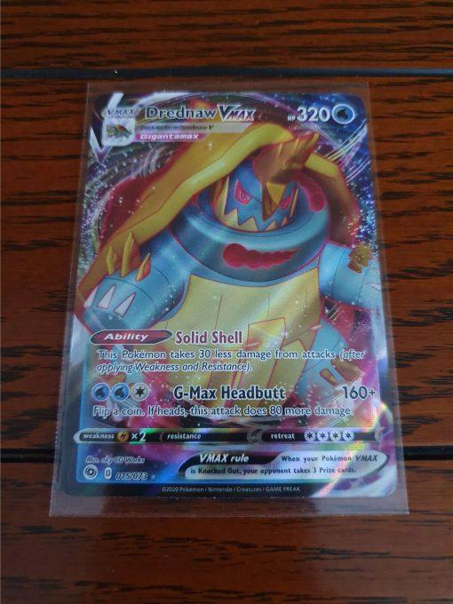 Pokemon Drednaw VMAX Champion's Path 015/073
