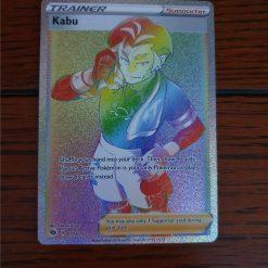 Pokemon Kabu Rainbow Rare Champion's Path 77/73