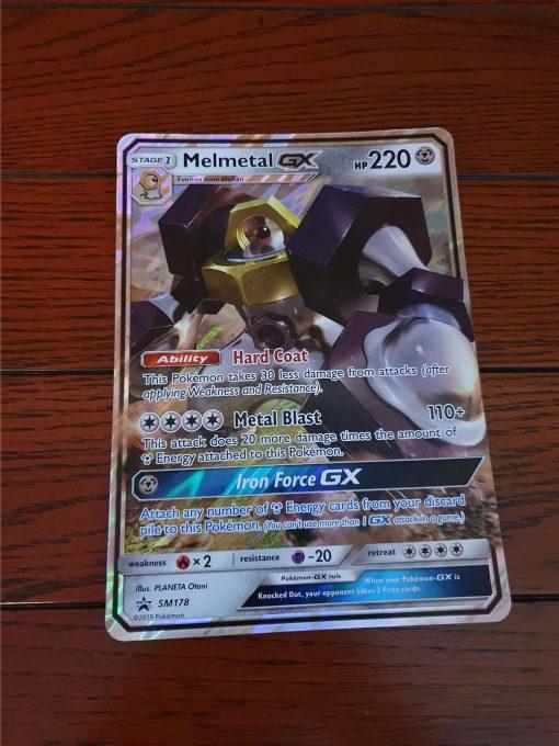 Oversized Kaart Melmetal GX SM178