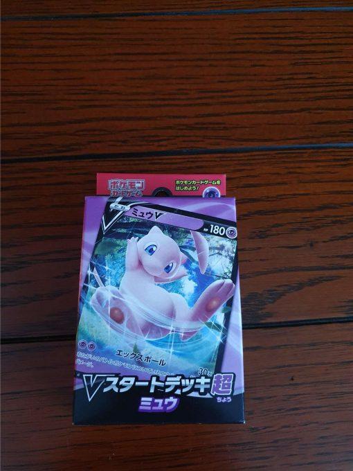 Pokemon Sword & Shield V Starter Deck Mew Japans