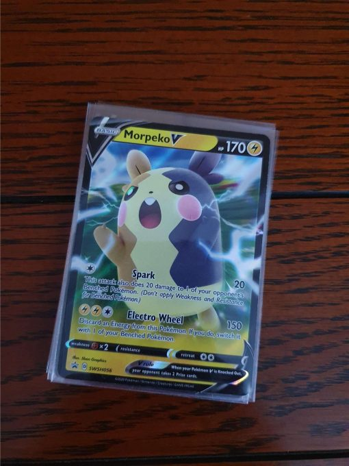 Pokemon Morpeko V Black Star Promo's SWSH056