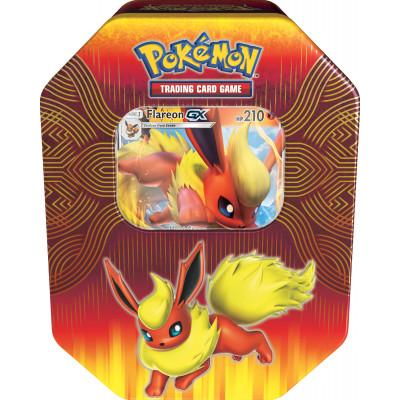 Pokemon Elemental Power Tin Flareon GX
