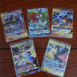 Pokemon Kaarten Set van 5 GX Kaarten Inclusief Charizard & Reshiram