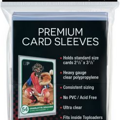 Ultra Pro Sleeves Platinum Clear