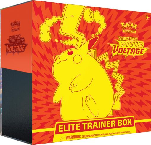 Pokemon Sword and Shield Vivid Voltage Elite Trainer Box