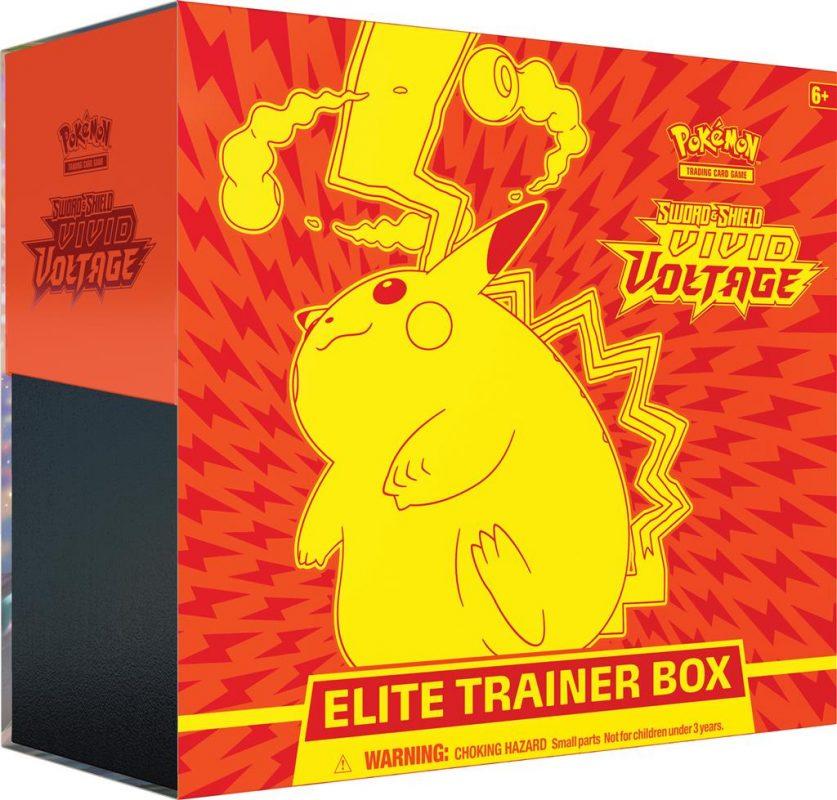 Pokemon Sword and Shield Vivid Voltage Elite Trainer Box