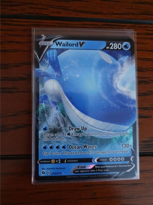 Pokemon Wailord V Champion's Path 013/073