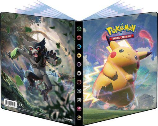 Pokemon Vivid Voltage 4-pocket Portfolio
