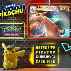 Pokemon Detective Pikachu Charizard GX Case File
