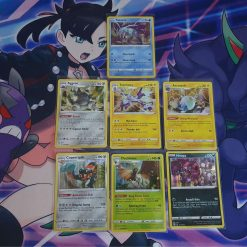 Pokemon 7 Holo-kaarten van Darkness Ablaze