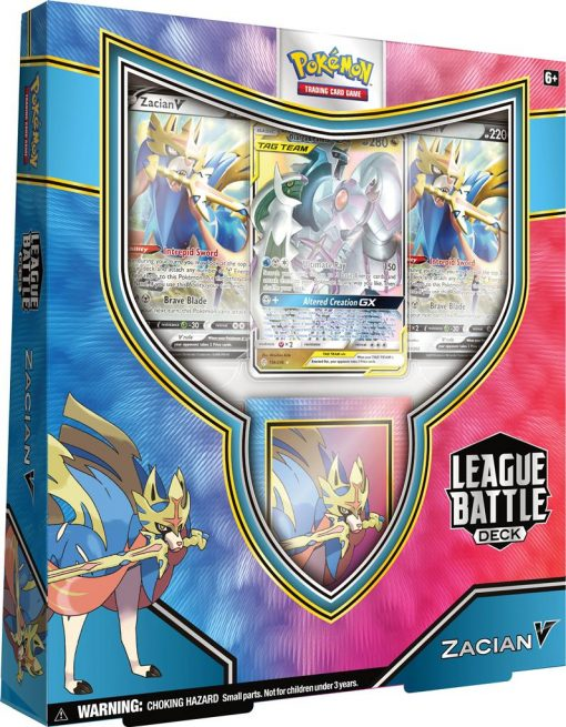 Pokemon League Battle Deck Zacian V en Arceus & Dialga & Palkia