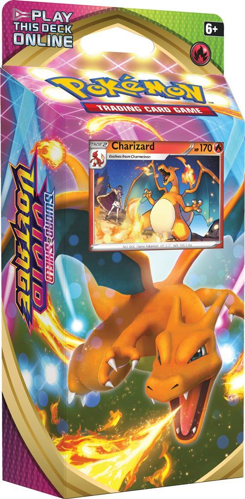 Pokemon Sword & Shield Vivid Voltage Charizard Theme Deck