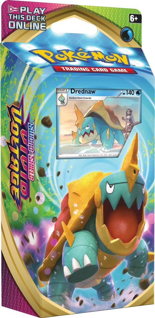 Pokemon Sword & Shield Vivid Voltage Drednaw Theme Deck