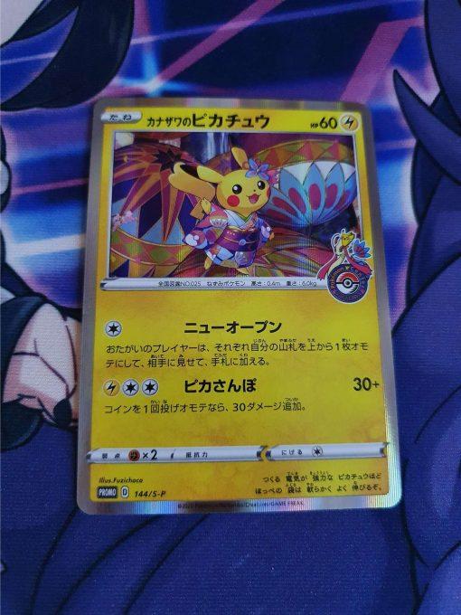 Pokemon Kaart Kanazawa's Pikachu 144/S-P Promokaart