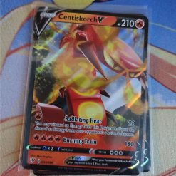 Pokemon Kaart Centiskorch V 033/189 Sword and Shield Darkness Ablaze