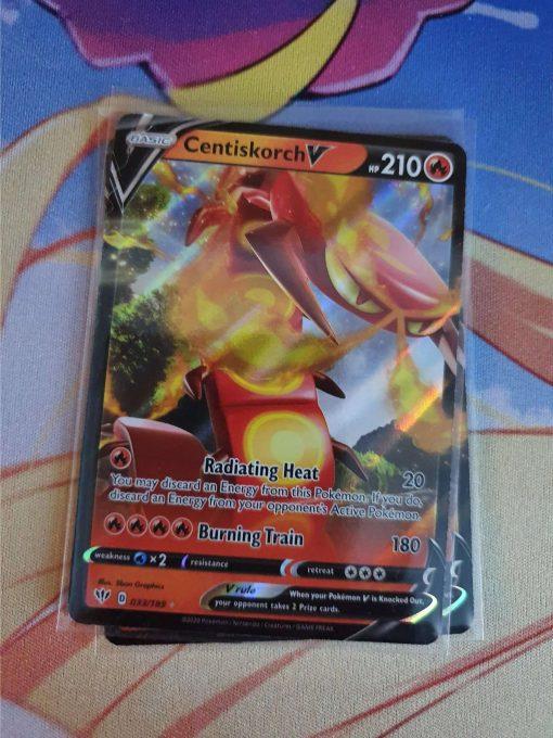 Pokemon Kaart Centiskorch V 033/189 Sword and Shield Darkness Ablaze