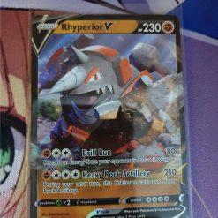 Pokemon Kaart Rhyperior V 095/189 Sword and Shield Darkness Ablaze