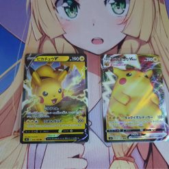 Pokemon Sword and Shield Pikachu V en Pikachu VMAX Set Japans