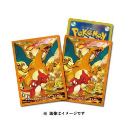 Pokemon Center Japan – Charizard Evolution Line Premium Card Sleeves