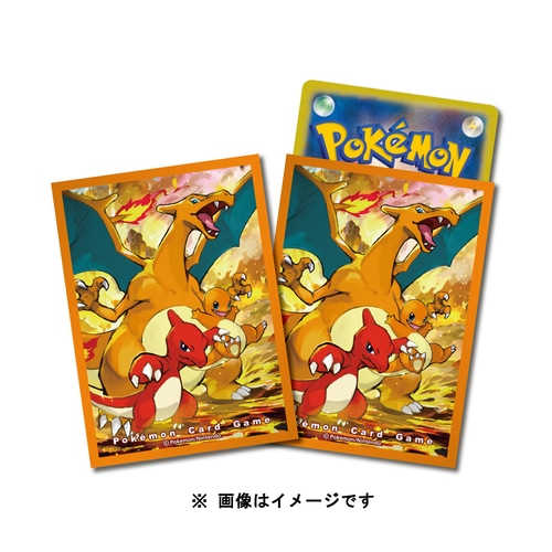 Pokemon Center Japan – Charizard Evolution Line Premium Card Sleeves
