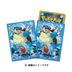 Pokemon Center Japan – Blastoise Evolution Line Premium Card Sleeves
