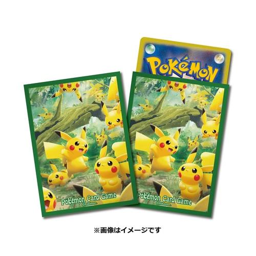 Pokemon Center Japan – Pikachu Forest Premium Card Sleeves