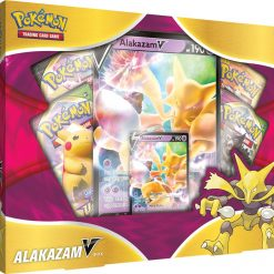 Pokemon Sword and Shield Alakazam V Box